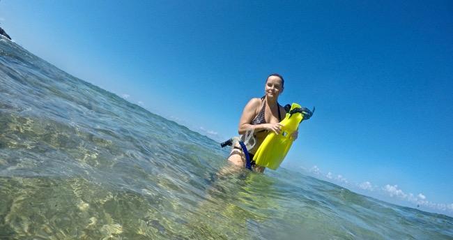 jen snorkel