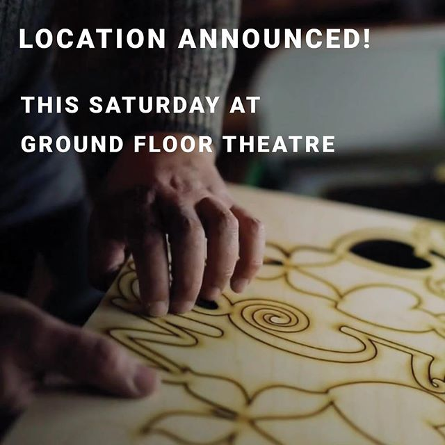If you're coming to the meetup Saturday, we can now tell you where to go! We'll be at @groundfloortheatre - and there are a few spots left if you haven't registered 😉. Link in profile 👆👆