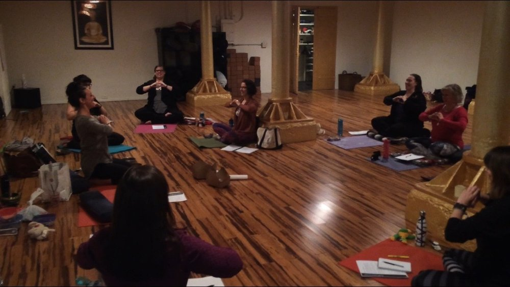 Meditation and Mindfulness Trainees in Action.jpg
