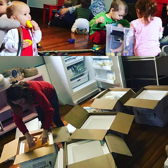 Today at Mama's Hip we sent a freezer full of #breastmilk to @themilkbank and had a very lively Family Music Jam ❤️. Thanks to @sp_aliveaf for packing and shipping the milk and @threadofdevotion for bring the musical magic!  #themorewegettogether #wetakecareofeachother #magicatmamaship #mamashipfamilycoop  #parentingisbettertogether  Follow this link to learn more about The Milk Bank, http://themilkbank.org  And see our events page on fb to get in on the fun at Mama's Hip.