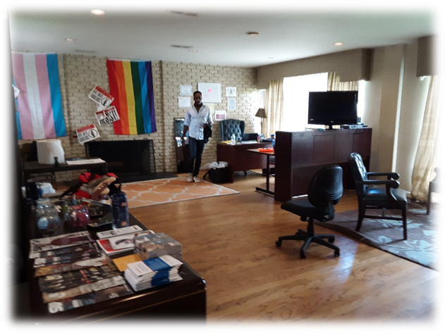The IAM! Office in the Campus of Fisk University (2017)