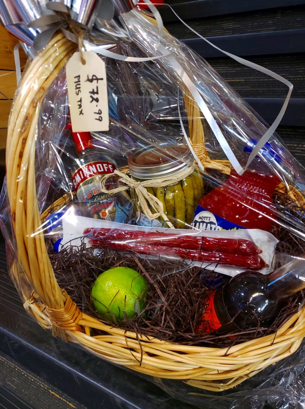 Gift baskets are now available.? Pre-made or made to order. Surprise & MAKE YOUR OWN GIFT BASKET!!! u2014 Creston Liquor Store