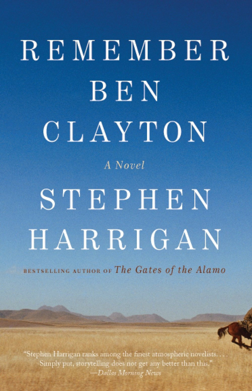 Remember Ben Clayton Cover