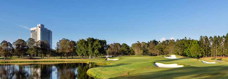 Image of RACV Royal Pines Golf Course used on 3 billboards in the Brisbane area