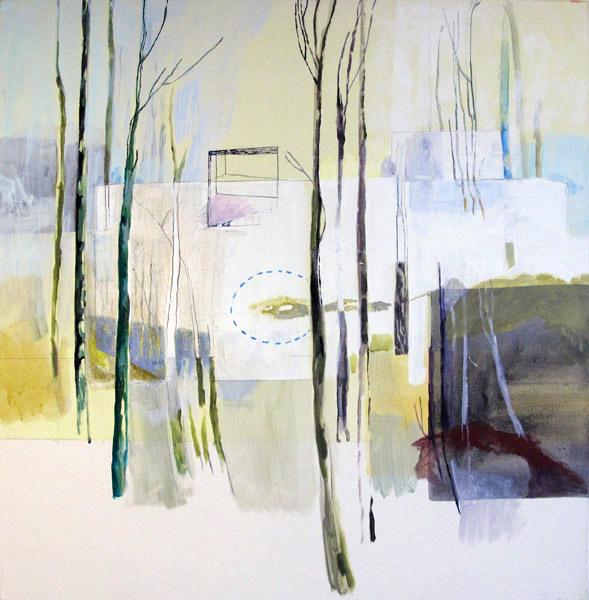 10Træer og hus. Acryl. 80x80.1o.jpg