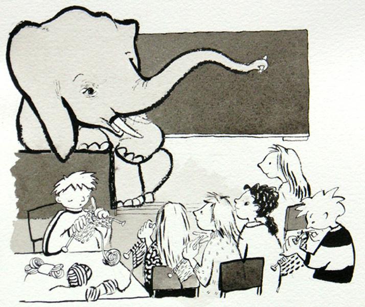 En elefant