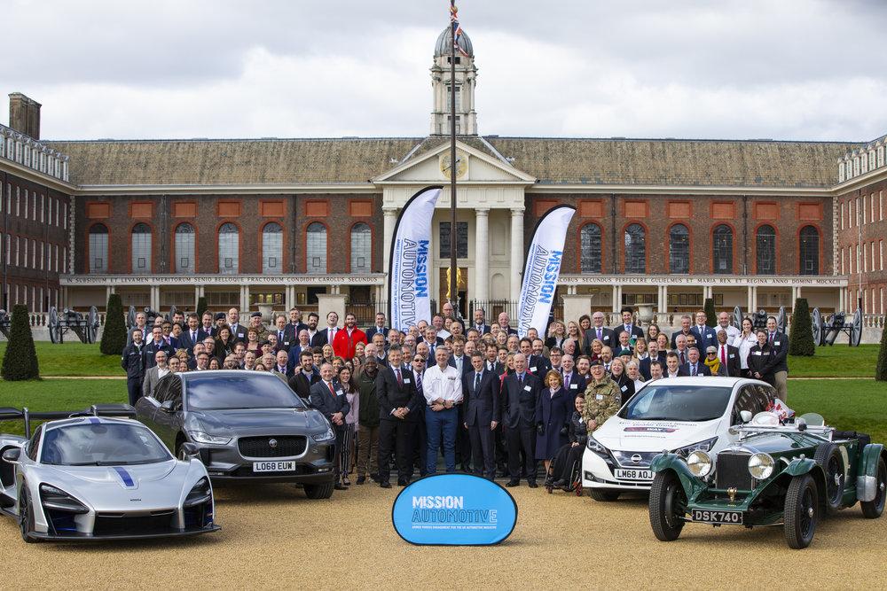 Mission Automotive's Public Launch! 07/03/19 Royal Hospital Chelsea!