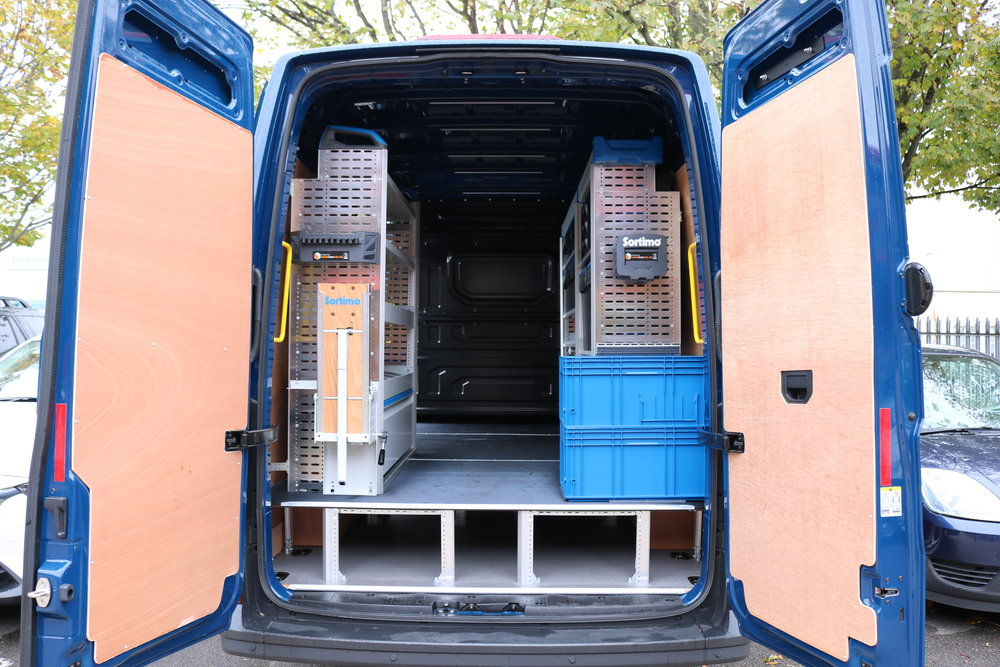 Sortimo Van Racking For A Worthing Based Heating Engineer