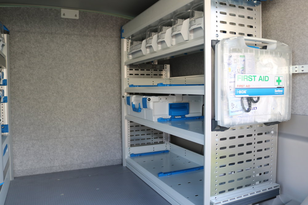 Sortimo Van Racking For A Fast Growing Heating & Electrical Company