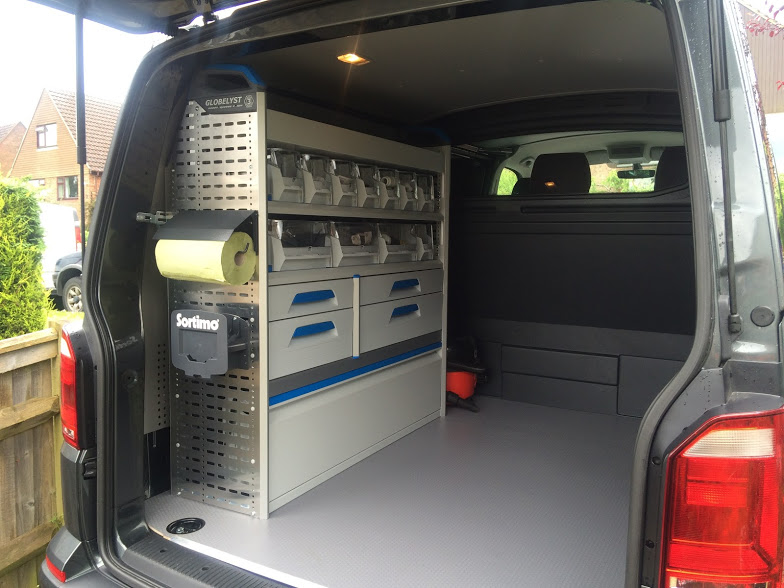 Sortimo Van Racking For An East Sussex Heating Engineer