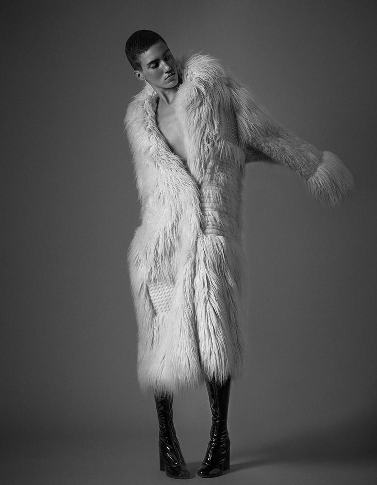 """Tamy Glauser"" for Harper's Bazaar"