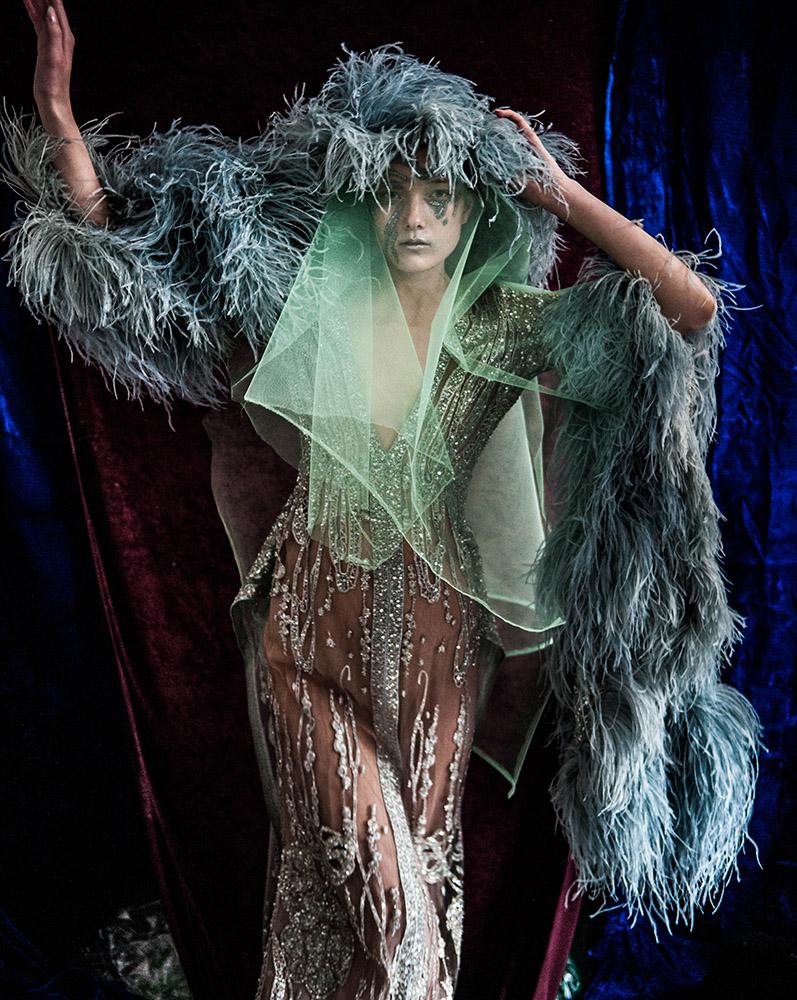 """""""Haute Couture"""" for Harper's Bazaar"""