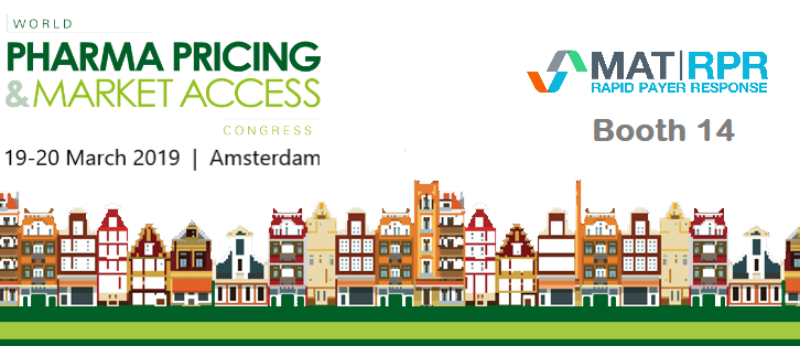 World Pharma Pricing & Market Access Congress | 2019   January 9, 2019   We are excited and proud to be exhibiting at this year's World Pharma Pricing & Market Access Congress taking place on 19-20 March in Amsterdam  […]