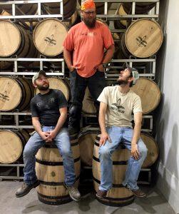 Distiller and Mash Men: Alan, Pedro and Mibbs