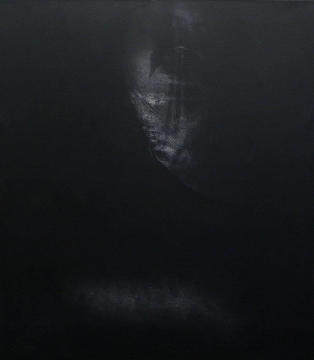 'Azimuth'  Mixed-media on canvas 197 x 223cm  2017
