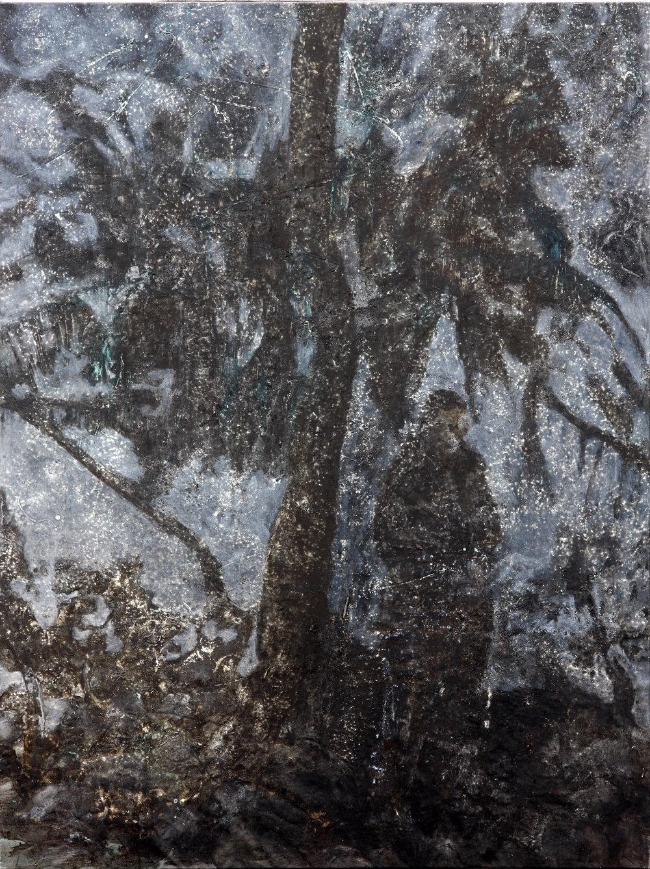 'Harar'  Mixed-media on canvas  149 x 198cm  2014