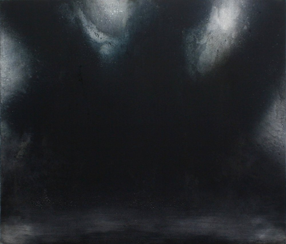 'Night Watch l' Mixed-media on canvas  210 x 180cm  2016