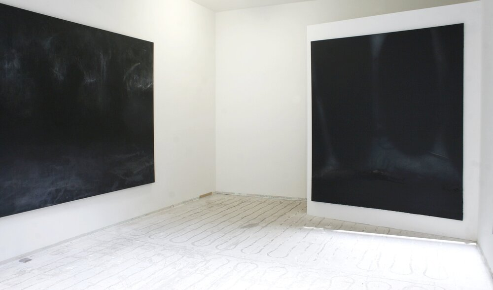 'Outer Dark'  Installation view  mplus projekt  Berlin  2017