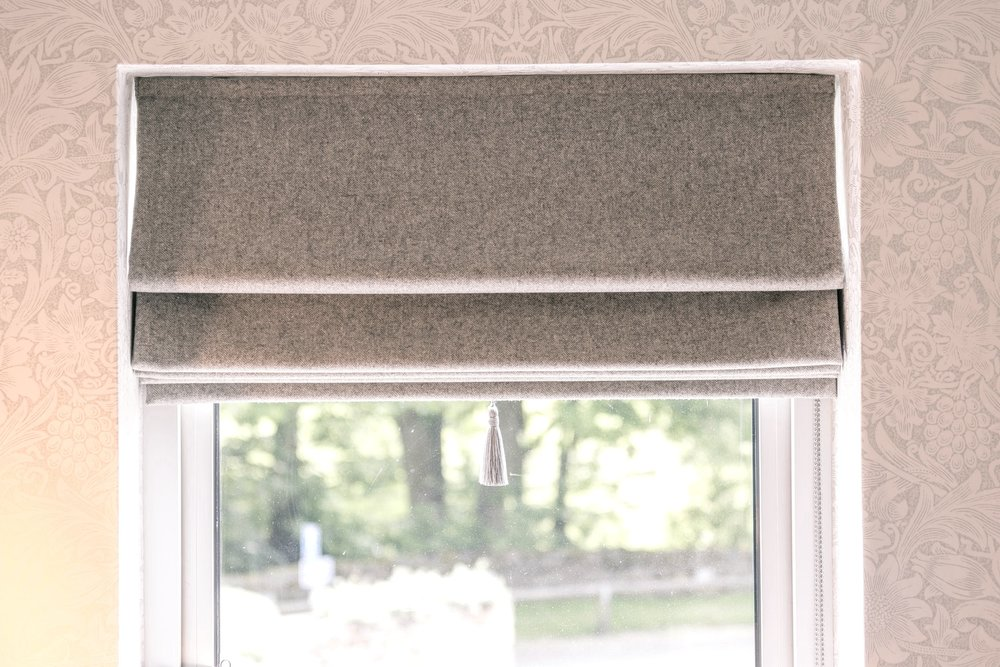 SPECIALIST BLINDS   Hand finished Romans or simple rollers. We have the perfect choice for your windows!