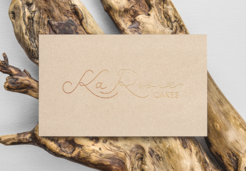 KaRosie Cakes Logo Design