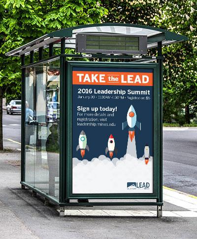 Leadership Summit Ad Design