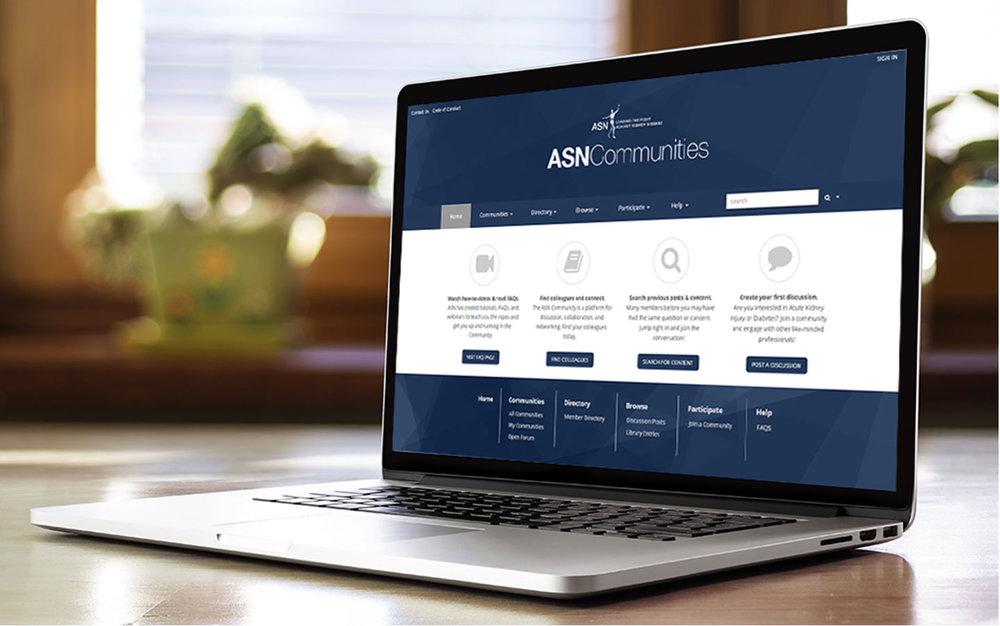 ASN Communities Website Design & Development