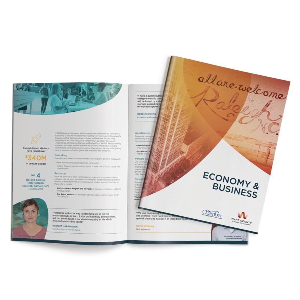 Wake County Economic Development Brochure