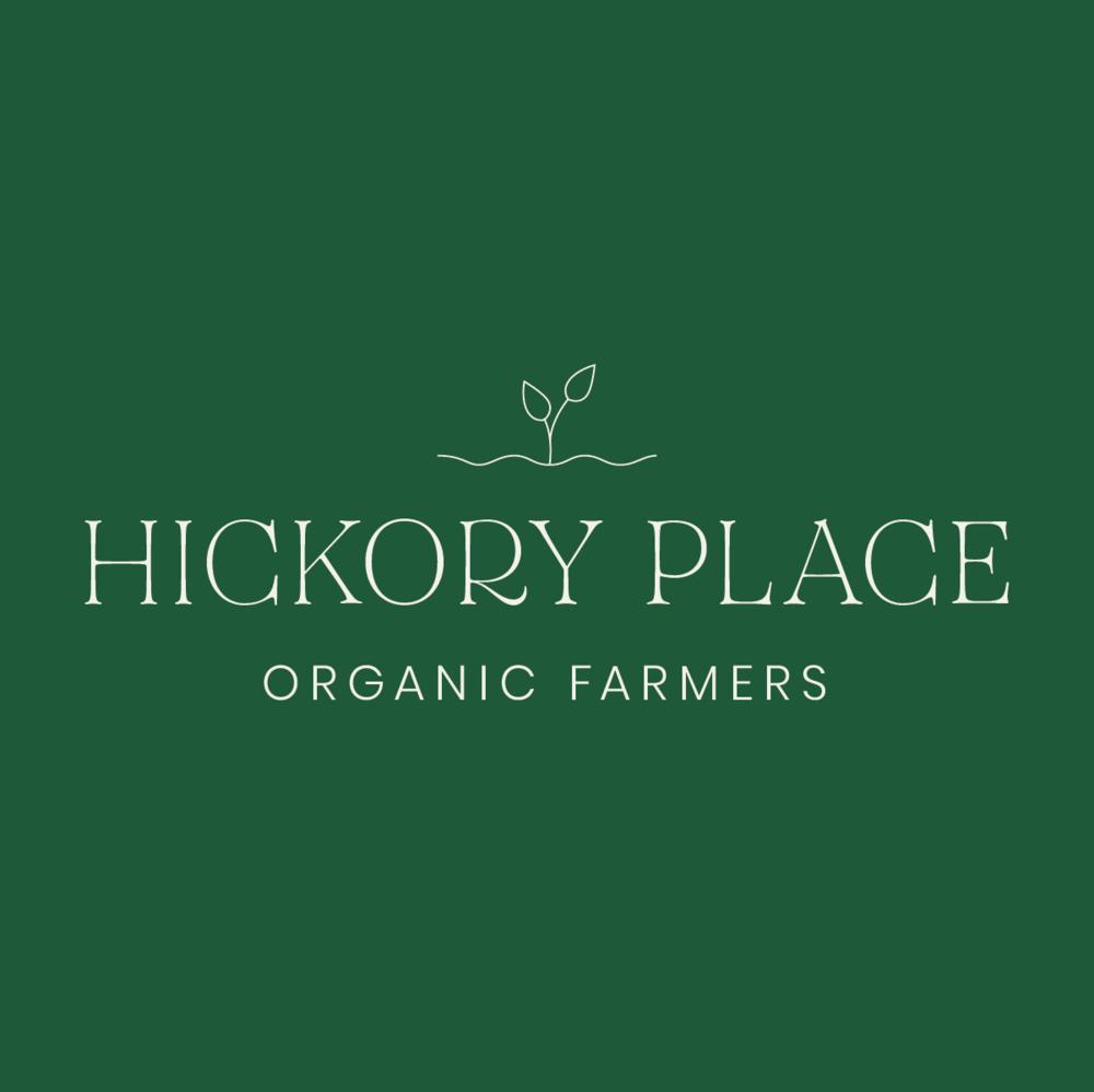 Hickory Place Organic Farmer Logo