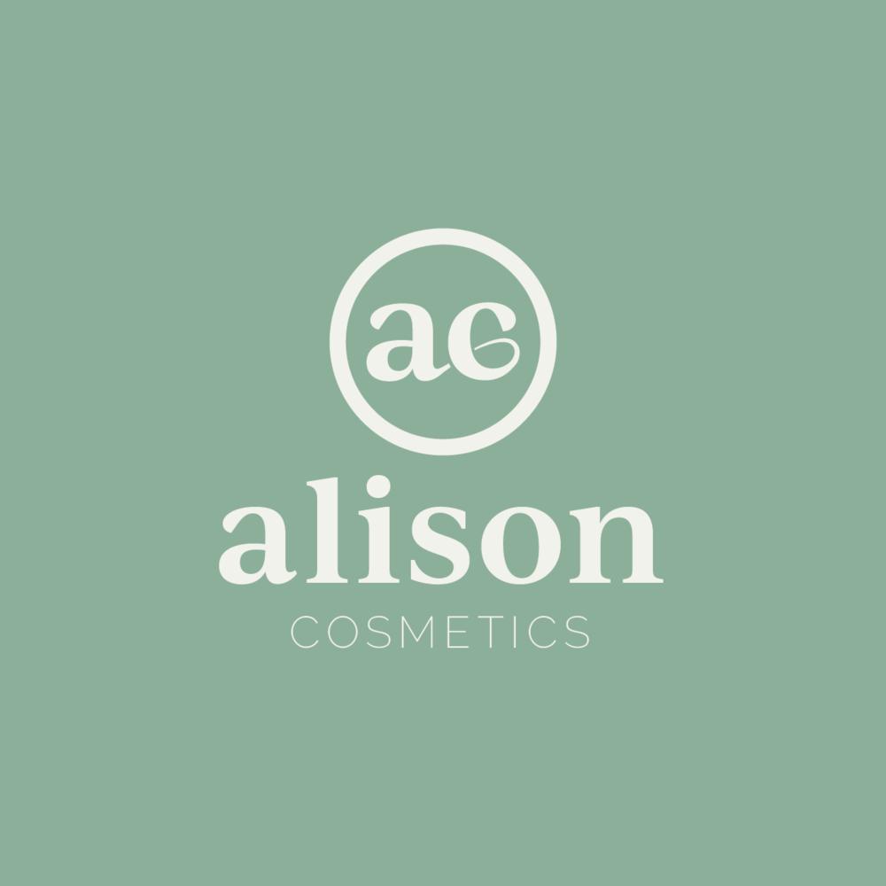 Alison Cosmetics Logo Design