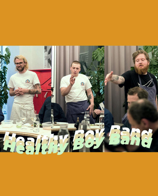 Mraz, Rachinger & Schellhorn Healthy Boy Band Austria