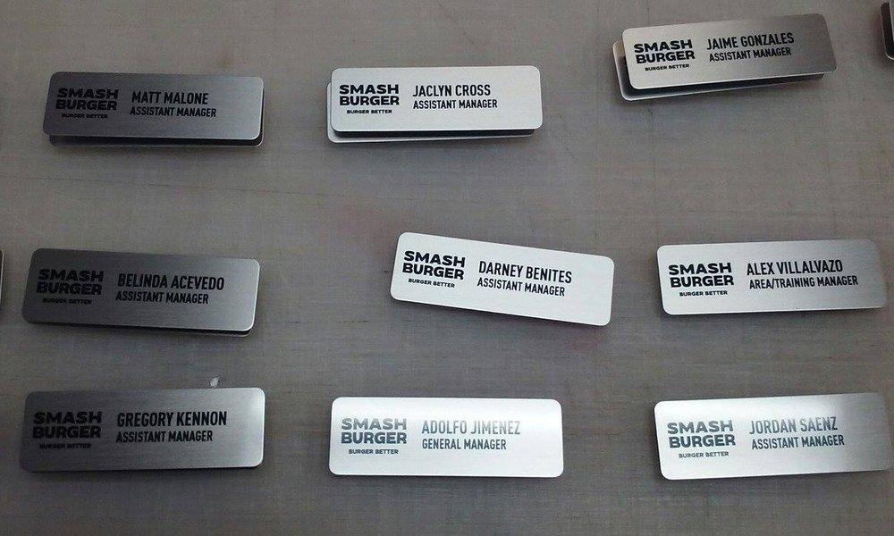 Name Badges -