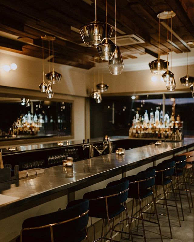 First look at our newly designed bar 🍸Join us - we'll save you a seat! Photo by @lawrence_braun for @fostersupplyhospitality