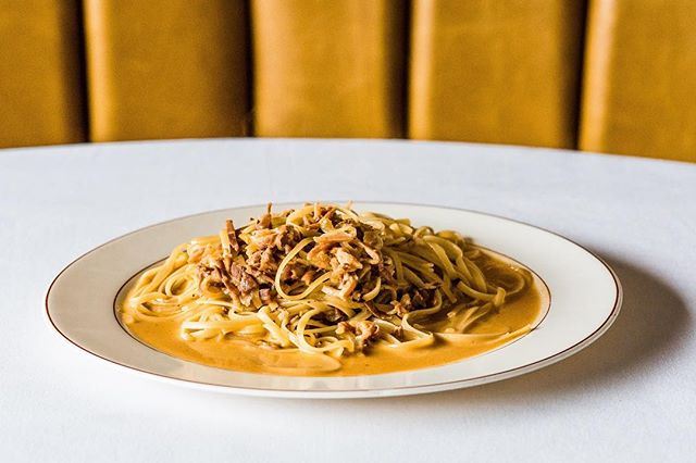 """Thanks to everyone who came out to support our opening weekend! We're back at it again tonight. Click to call or email to make your reservation. Also taking reservations through @tockhq - just click """"reserve"""" in our profile! // 🍝 Photo by @lawrence_braun for @fostersupplyhospitality"""