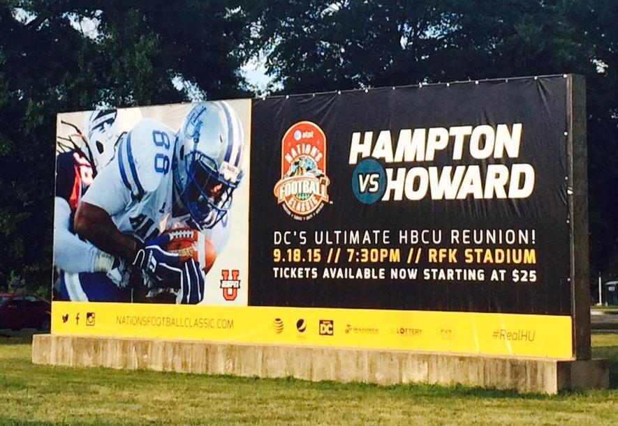 EDC_Hampton V Howard BannerIn front of the armory.jpg