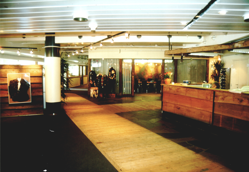 Levi's Strauss Headquarters at Aker Brygge, Oslo Norway