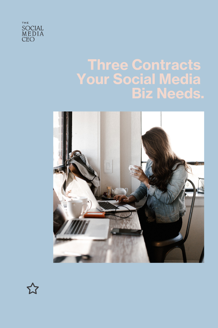 Three Contracts Your Social Media Business Needs