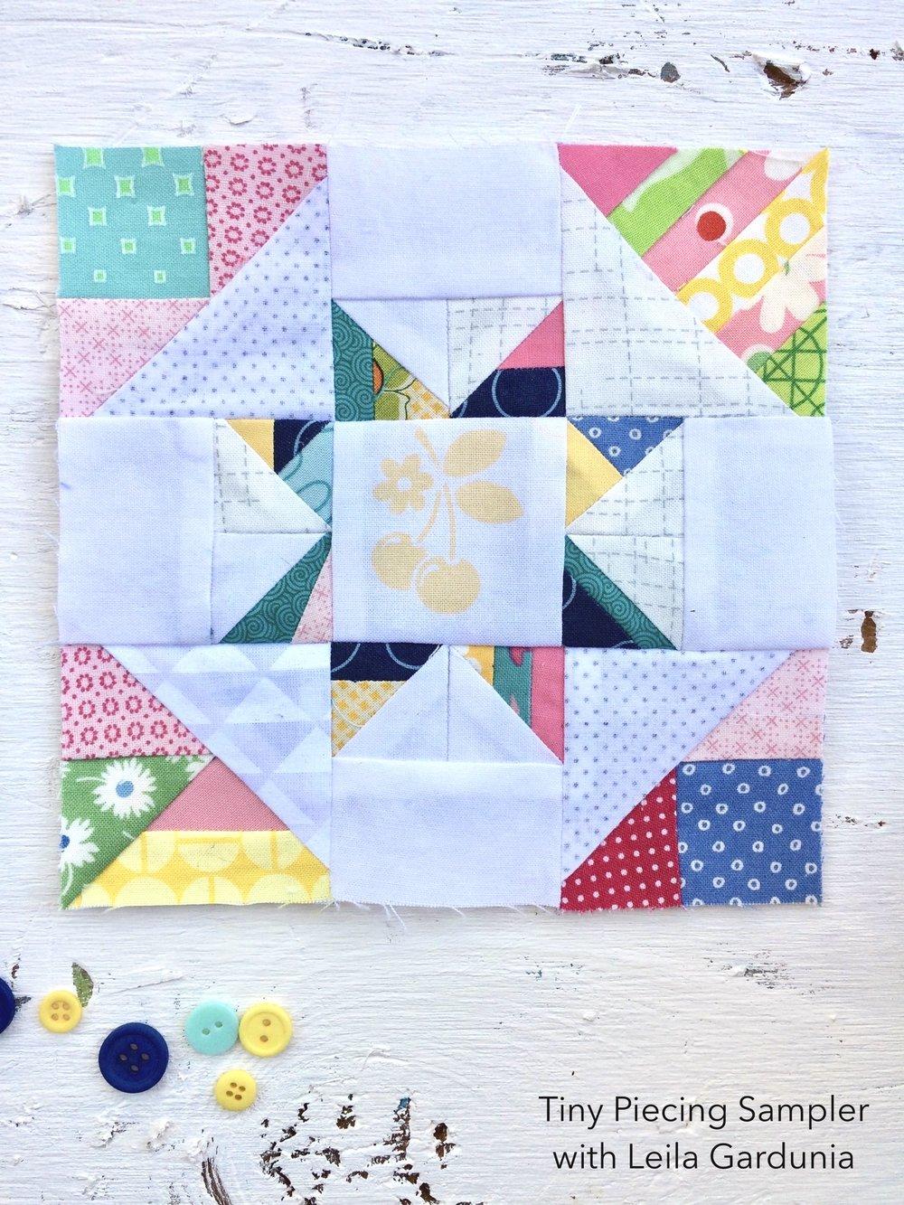 "6""-tiny-piecing-star-quilt-block"