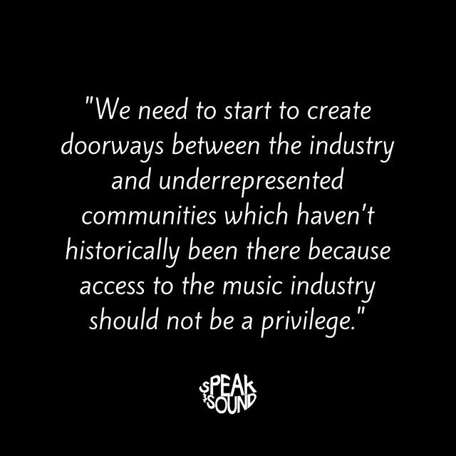A big thanks to @thempaonline for the support and spreading our message 🙌 . Check out the the MPA website for their post on Speak & Sound! . . . #musicindustry #musicbusiness  #diversity #educate #engage #empower #projectEEE #speakandsound #ukmusic #workplacediversity #education #musicproducer #talent #independent #unsigned #career #careergoals #recordlabel #musicpublisher #musicmanagement #artist #artistdevelopment #musicpublishers #mpa