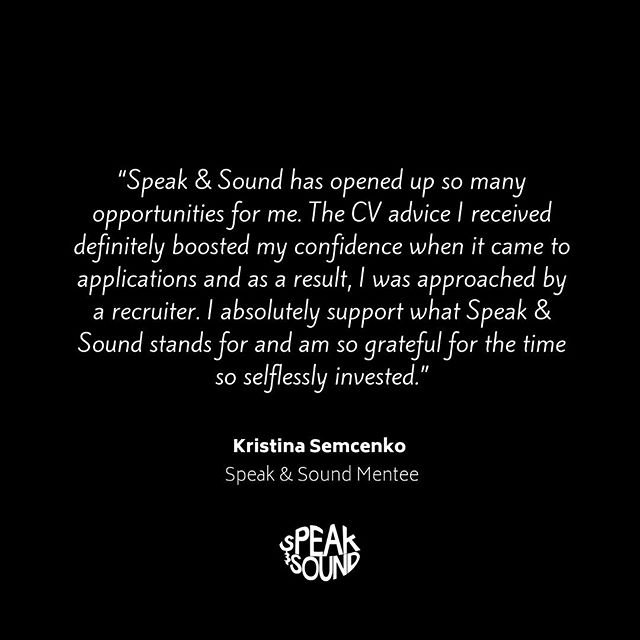 Sometimes all you need is a little encouragement to show you that you CAN do this! 🙌 Whether it's CV advice, interview tips or just a catch up over coffee ☕️ we want to support you in whatever way we can! . . . #musicindustry #musicbusiness  #diversity #educate #engage #empower #projectEEE #speakandsound #ukmusic #workplacediversity #education #musicproducer #talent #independent #unsigned #career #careergoals #recordlabel #musicmanagement #artist #artistdevelopment #musicpublishers #apprenticeship #trainee #mentor #mentee