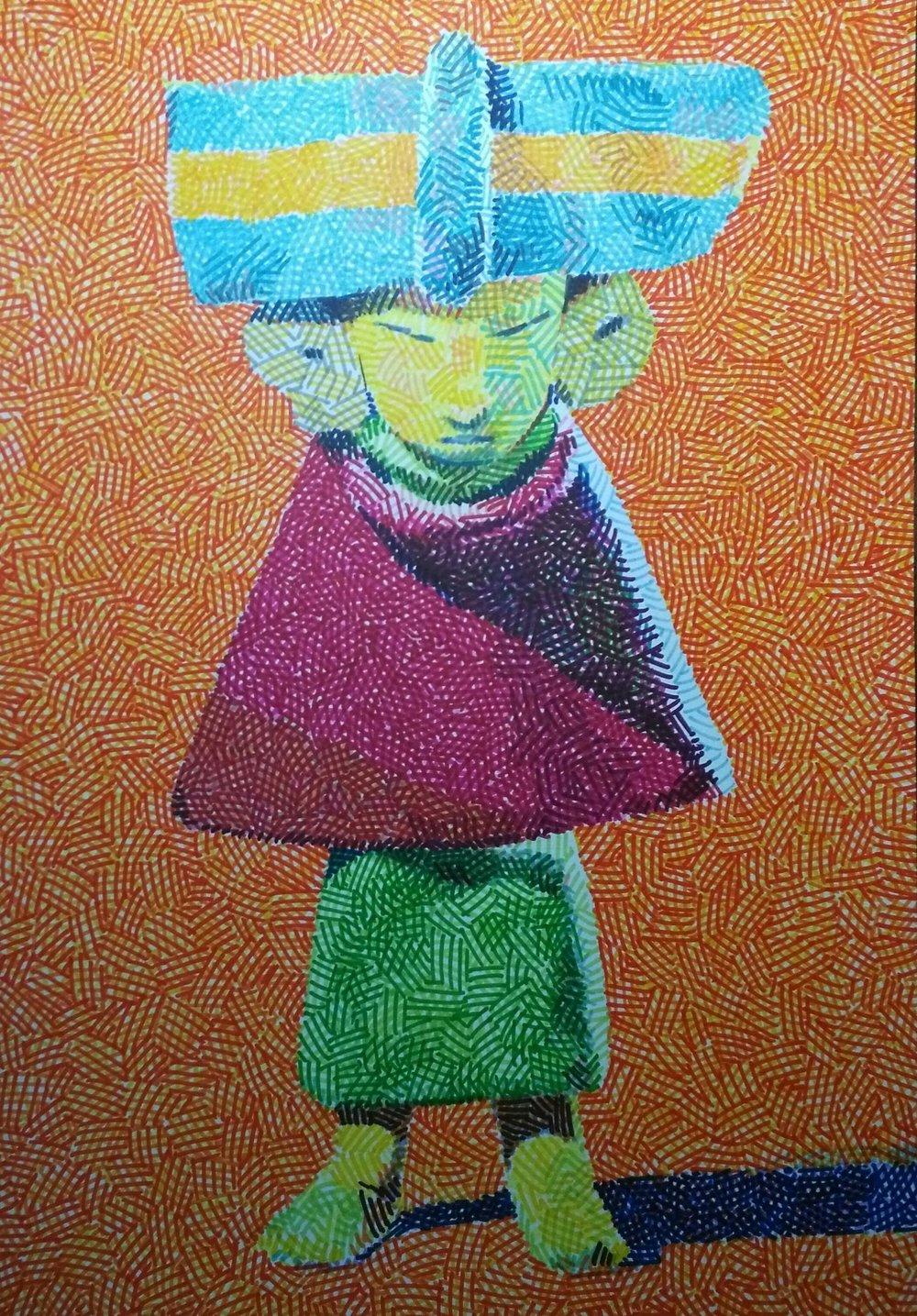 Teotihuacán Figure