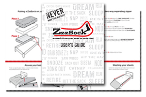 Click the ZzzSock User's Guide icon to download the PDF