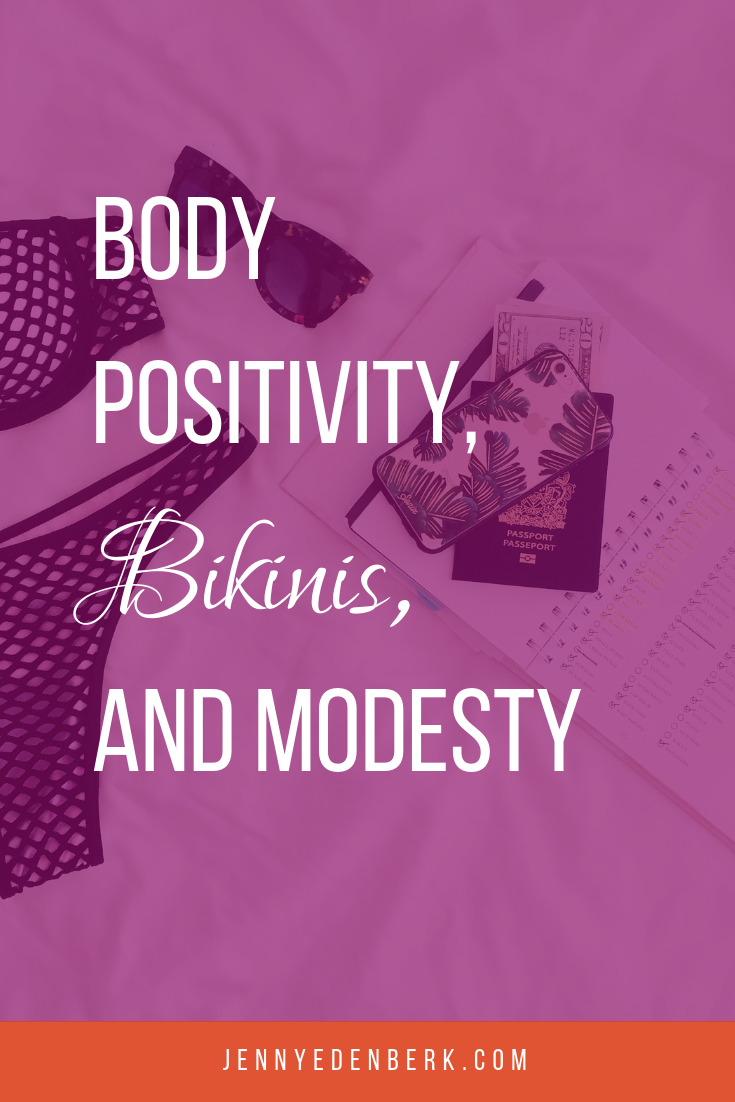 body positivity, bikinis and modesty