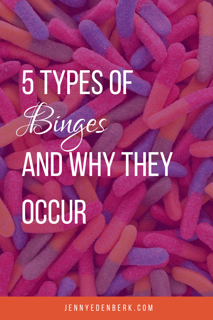 5 types of binges