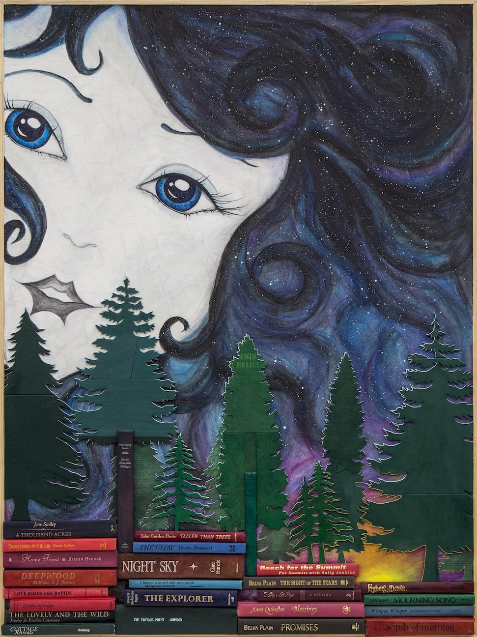 baerwald_i_see_the_moon_the_moon_sees_me_acrylic_on_books.jpg