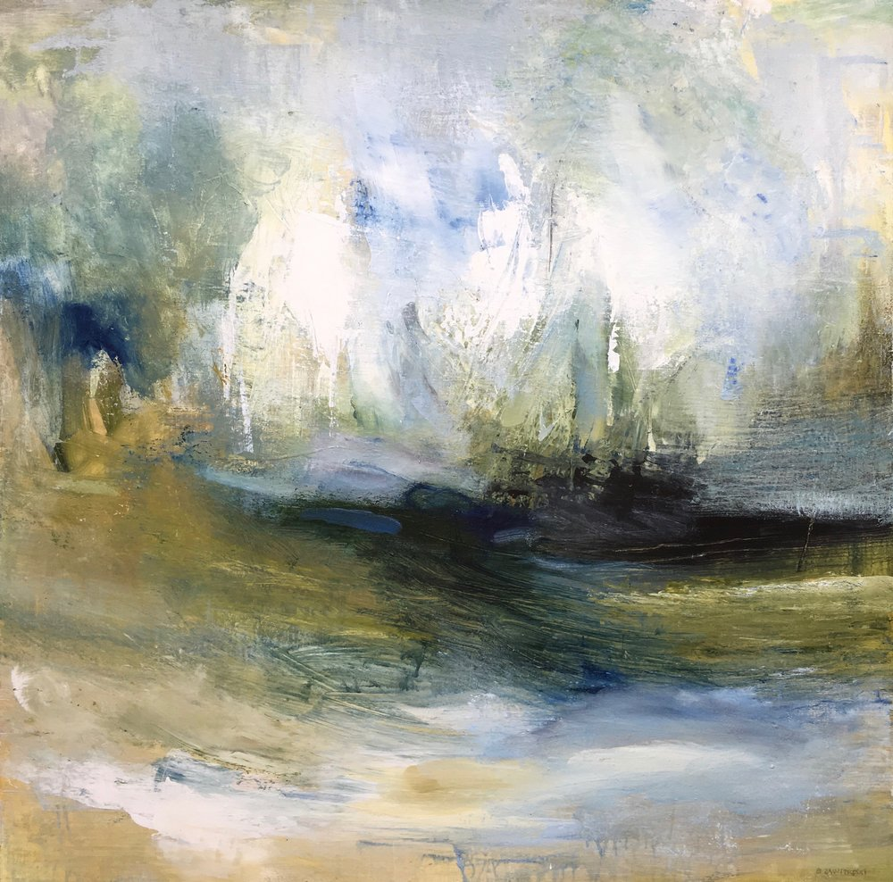 Regatta , 36 x 36, Acrylic on canvas