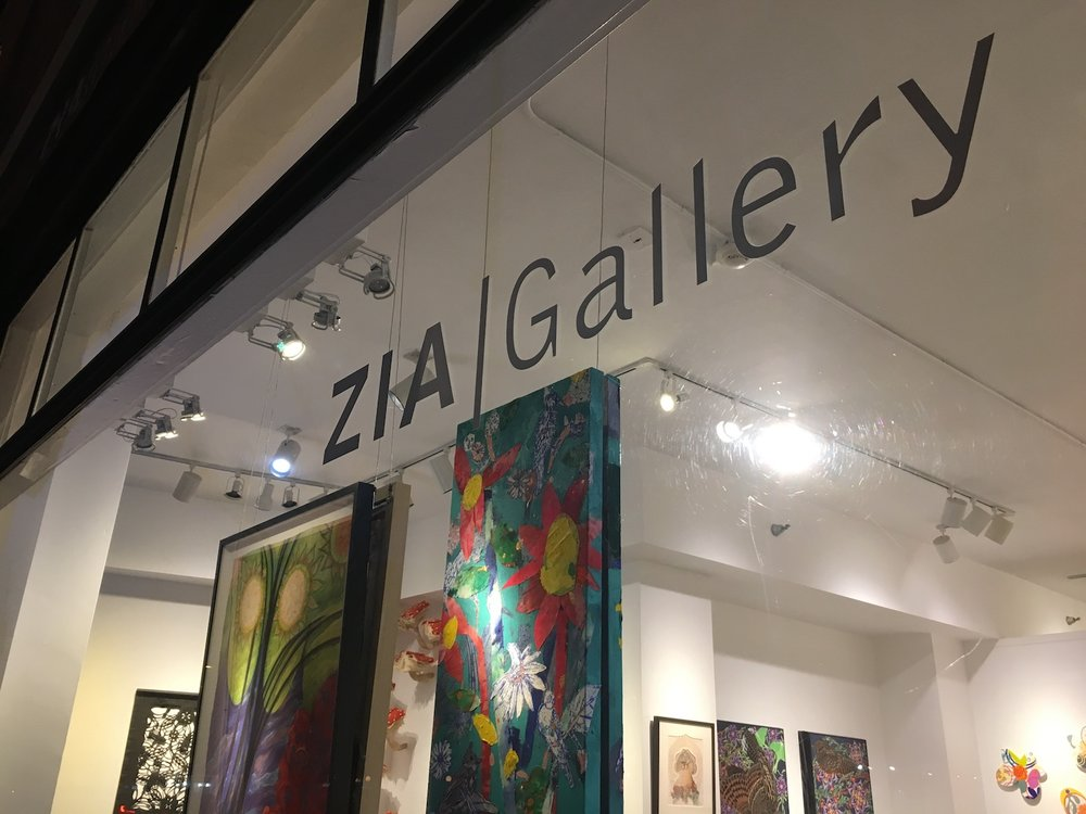 The Floral Show (not what you expect) now at ZIA Gallery