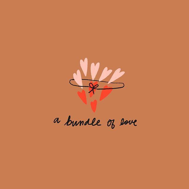 Happy Love Day!!!!!!! To you, from me. . . . #fwportfolio #girlboss #womenofillustration #illustrator #illustrationart