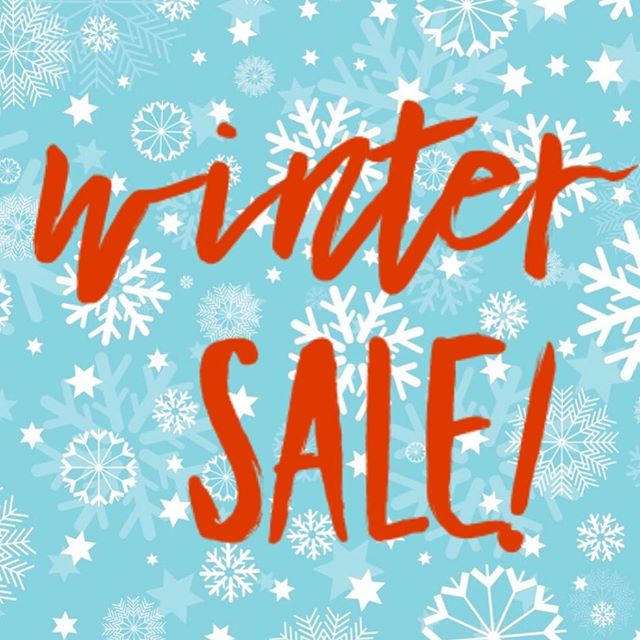 Winter SALE! 30-50% Off! Mention this post this week and take an additional 10% off!