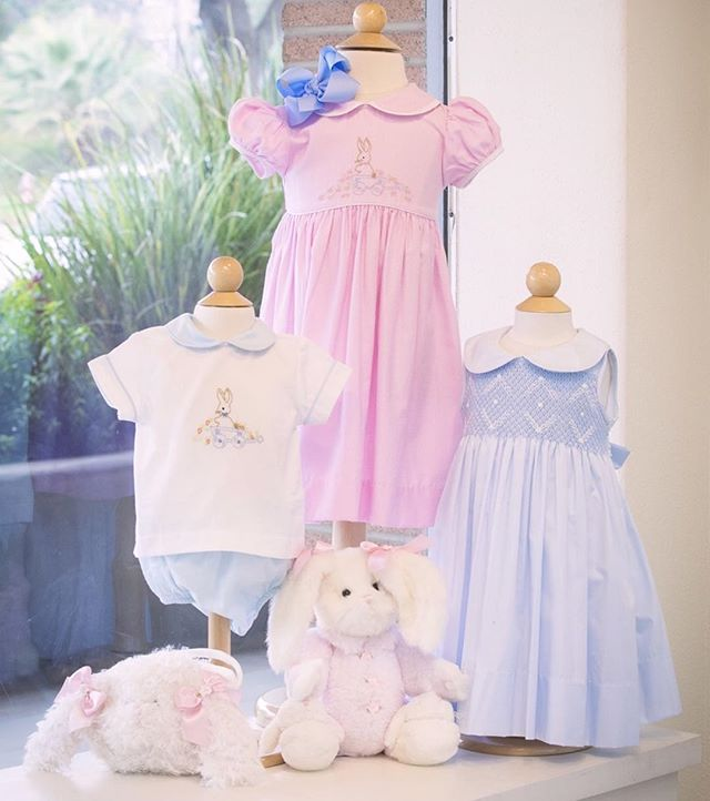 The Easter bunny has stopped by Belles & Beaux with some adorable spring pastels! 🐰