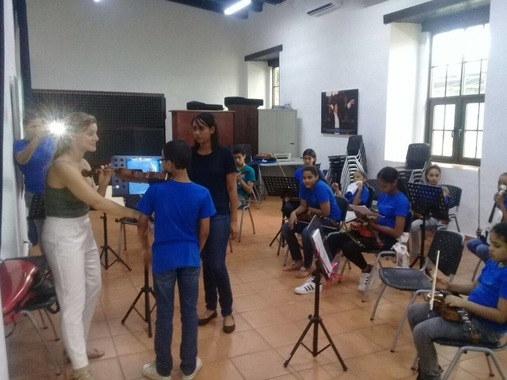 Masterclasses and clinics for Fiesta Clasica Santo Domingo, DR